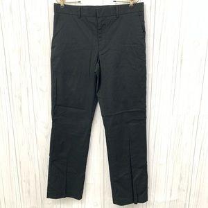 EXPRESS PRODUCER MENS BLACK STRIPED PANTS 32 x 32